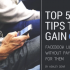 5 Tips for Gaining Facebook Likes