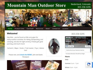 Mountain Man Outdoor Store