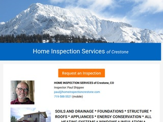 Home Inspection Services, Crestone