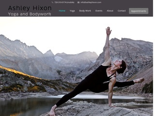 Ashley Hixon Yoga and Bodywork