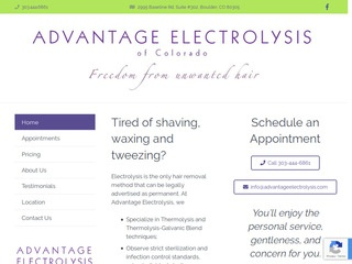 Advantage Electrolysis