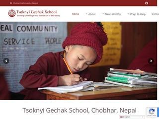 Tsoknyi Gechak School