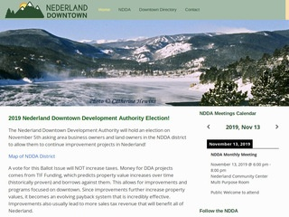 Nederland Downtown Development Authority