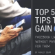 5 Tips for Gaining Facebook Likes, Ashley Dear