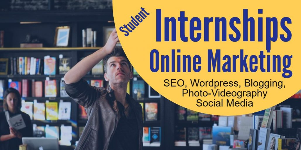 Student Internships - Online Marketing