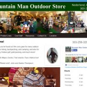 Mountain Man Outdoor Store - Website Visits and Analytics