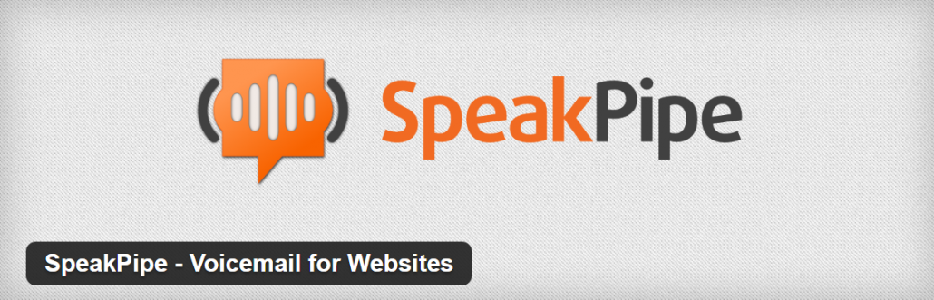 SpeakPipe Voice Messaging Plugin